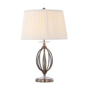 Elstead AG/TL AGED BRASS | Aegean 1 Light Table Lamp - Aged Brass