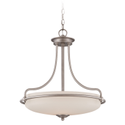 Elstead QZ/GRIFFIN/P AN | Griffin 4 Light Pendant - Antique Nickel