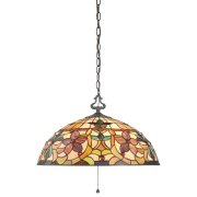 Elstead QZ/KAMI/P | Kami 3 Light Pendant With 3 Lights