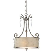 Elstead QZ/KENDRA/P/B | Kendra 2 Light Pendant Light