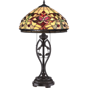 Elstead QZ/KINGS POINTE | Kings Pointe 2 Light Table Lamp
