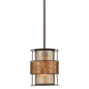 Elstead QZ/LAGUNA/MP | Laguna 1 Light Mini Pendant