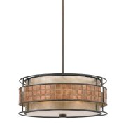 Elstead QZ/LAGUNA/P | Laguna 4 Light Pendant Light