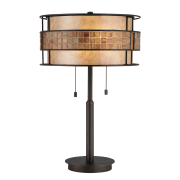 Elstead QZ/LAGUNA/TL | Laguna 2 Light Table Lamp