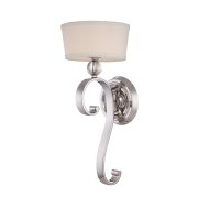 Elstead QZ/MADISONM1 IS | Madison Manor 1 Light Wall Light - Imperial Silver