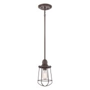 Elstead QZ/MARINE/P | Marine 1 Light Mini Pendant