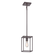 Elstead QZ/NEWHARBOR/P | New Harbor 1 Light Mini Pendant