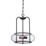Elstead QZ/TRILOGY/3P | Trilogy 3 Light Pendant