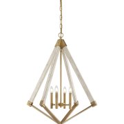 Elstead QZ/VIEWPOINT/L | View Point 4 Light Chandelier