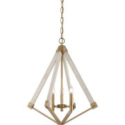 Elstead QZ/VIEWPOINT/S | View Point 3 Light Chandelier