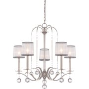 Elstead QZ/WHITNEY5 | Whitney 5 Light Chandelier