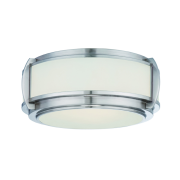 Elstead QZ/WILKINSON/F | Wilkinson 3 Light Flush Light