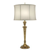 Elstead SF/SYRACUSE BB | Syracuse 1 Light Table Lamp - Burnished Brass