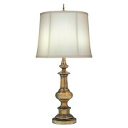 Elstead SF/WASHINGTON AB | Washington 1 Light Table Lamp - Antique Brass